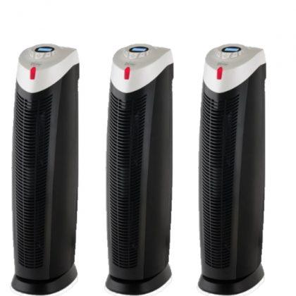 3 x UV HEPA Carbon luchtreinigers PR-940